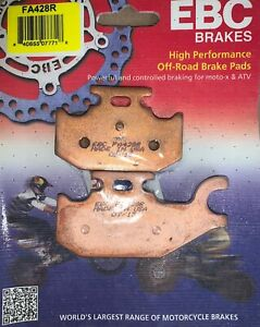 EBC Sintered Brake Pads FA428R