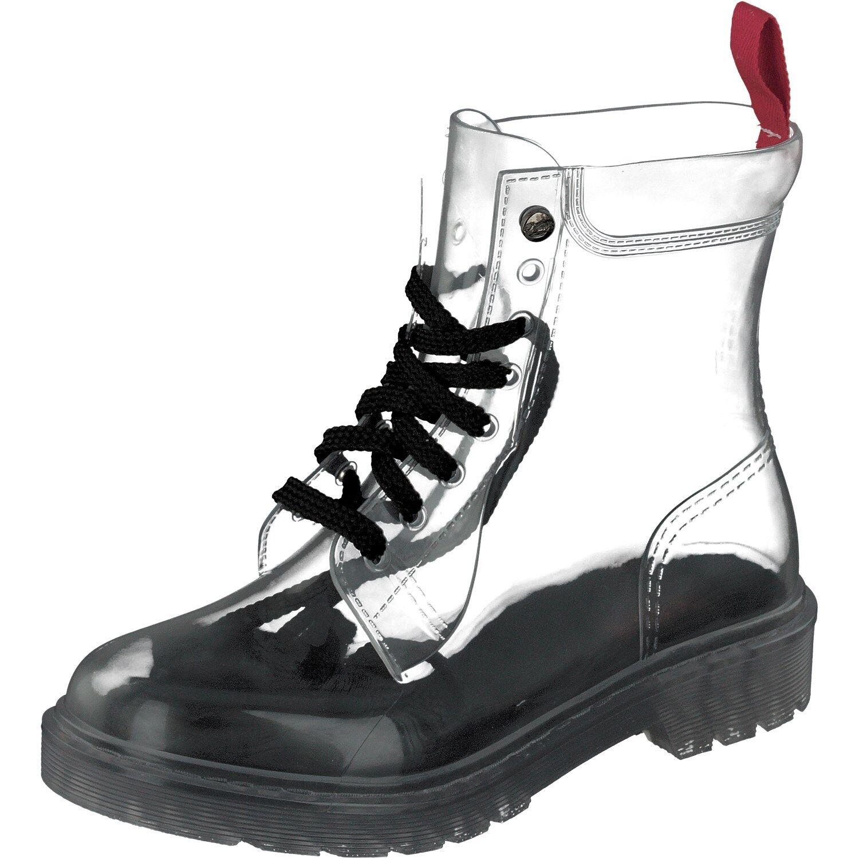 Gosch scarpe Sylt Scarpe Donna Stivali di GOMMA Trasparente 7105-150-0