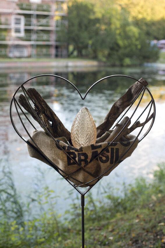 Hochzeitsgeschenk Hochzeitsgeschenk Hochzeitsgeschenk Hochzeitsherz Gartendeko Pflanzherz Herz befüllen Eisenherz | Elegante und robuste Verpackung  | Überlegen  db2cc5