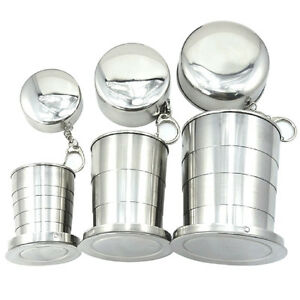 Stainless-Steel-Portable-Folding-Telescopic-Collapsible-Outdoor-Travel-Cup-Mug