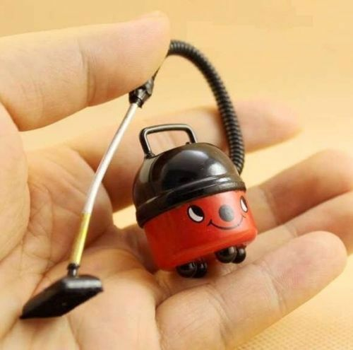 Red Vacuum Cleaner Dollhouse Miniature 1:12 Scale Fairy Doll Home Life Scene \
