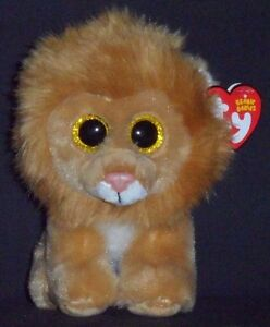 b5f95c8ff12 Image is loading TY-LOUIE-the-LION-BEANIE-BABY-MINT-with-