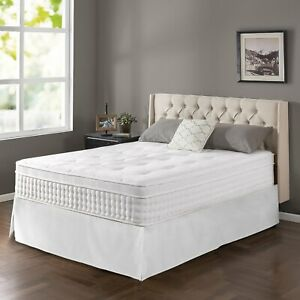 Zinus Night Therapy 13 In King Size Spring Mattress Euro
