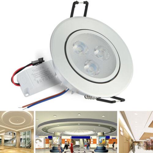 6//12X Warm//Cool White 110V 3//7//12W Recessed LED Ceiling Downlight Spotlight blub