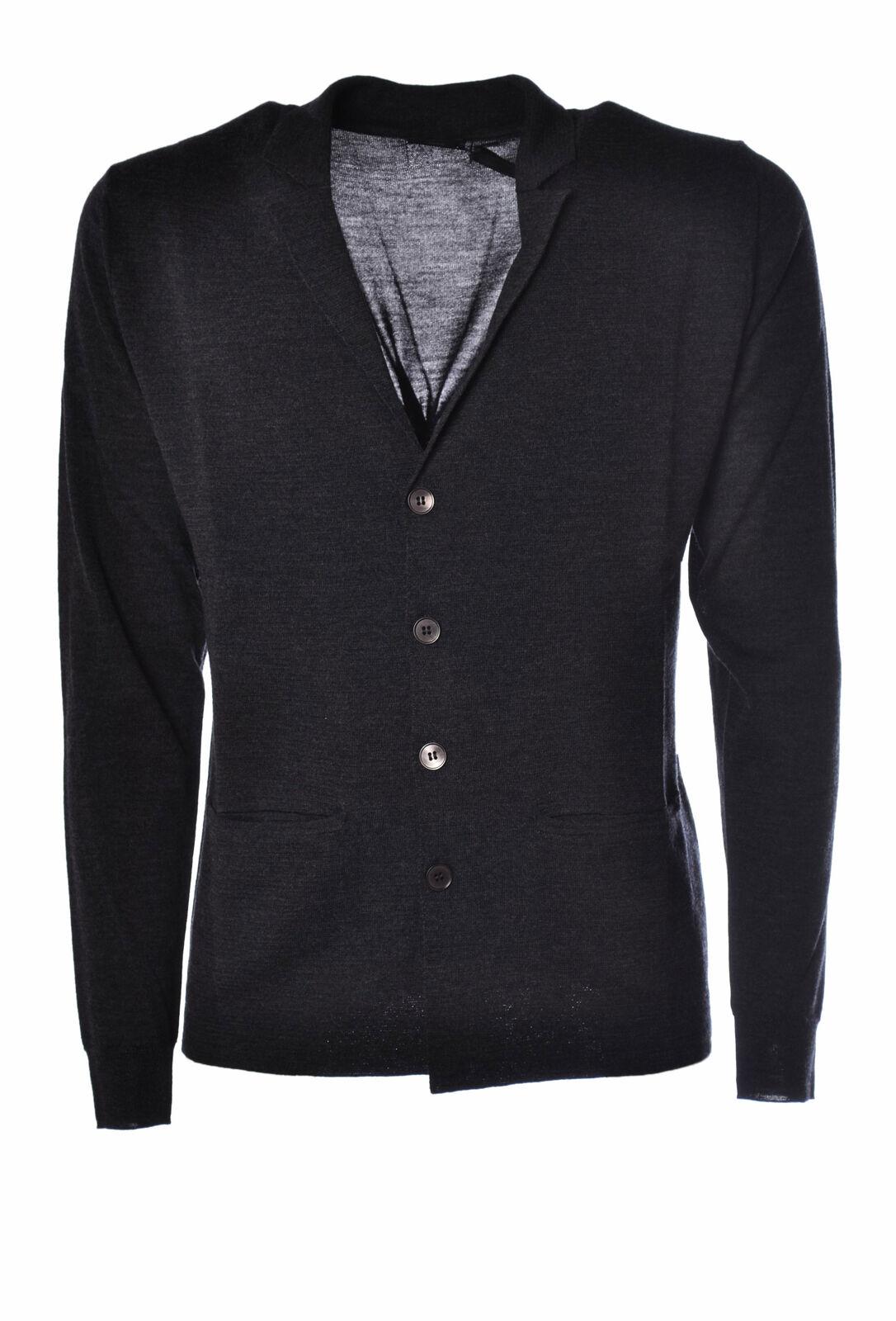Hosio  -  Cardigan - Male - Grau - 2503026N173902