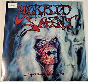 Morbid-Saint-Spectrum-of-Death-Clear-Red-Splatter-Vinyl-12-034-LP-Ltd-100-Copies
