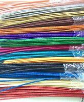36 Glitzy Sticks Multi 12 Colors(2 Ea) Floral Accents 24pk Deco Mesh Wreaths