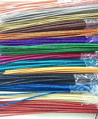 """36"""" Glitzy Sticks Multi 12 Colors(2 ea) Floral Accents 24pk Deco Mesh Wreaths"""