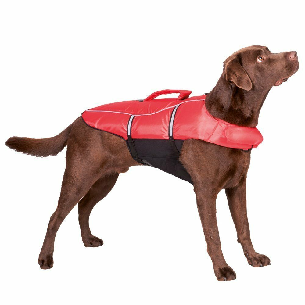 Trixie Dog Swim Vest Safety Reflective Water Games Boat Buoyancy Aid CLEARANCE