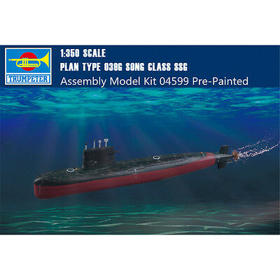 Type 039G Song Class Ssg Submarine Kit TRUMPETER 1:350 TR04599 Model