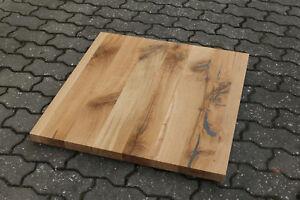 Tischplatte-Regalbrett-Platte-Eiche-Wild-Antik-Massiv-Holz-Leimholz-Brett-NEU