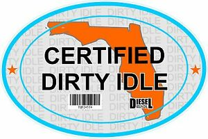Certified-Dirty-Idle-Sticker-not-Clean-Idle-Sicker-FLORIDA