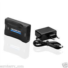 HDMI/MHL  auf TV-Scart 1080P Konverter Adapter HD TV Wandler Converter