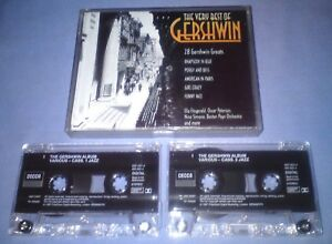 V-A-GERSHWIN-THE-VERY-BEST-OF-Double-cassette-tape-album