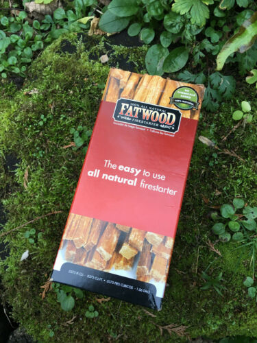 Natural Fatwood Firestarter for BBQs Bushcraft and Camping Open Fires