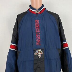 Starter Florida Panthers Puffy Jacket XL Vintage 90s Front Pouch NHL ... 89e7f7855