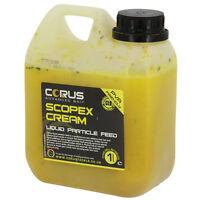 Scopex Cream Liquid Feed 1l Can Hydrate Boost Boilies Carp Fishing Attractor