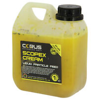 Scopex Cream Liquid Feed 1l Can Hydrate Boost Boilies Carp Fishing Attractor