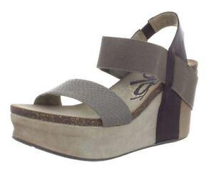 9583e6d7516 OTBT Women s Bushnell Platform Wedge 3.5 inch Heel Leather Sandal ...