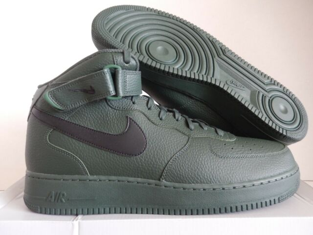 wholesale dealer 3e485 6a04b Nike Air Force 1 Mid 07 Af1 Men Lifestyle SNEAKERS Grove Green ...