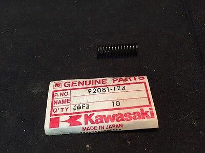 NOS 1974-76 Kawasaki KX125 Kick Pawl Spring 92081-124