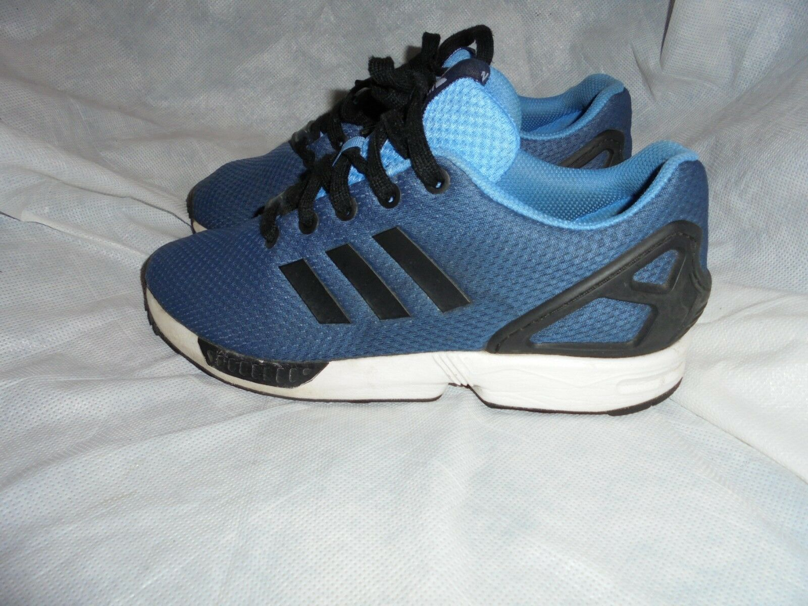 ADIDAS ORTHOLITE WOMEN Blau TEXTILE LACE UP TRAINERS SIZE UK 5 EU 38 US 5.5 VGC