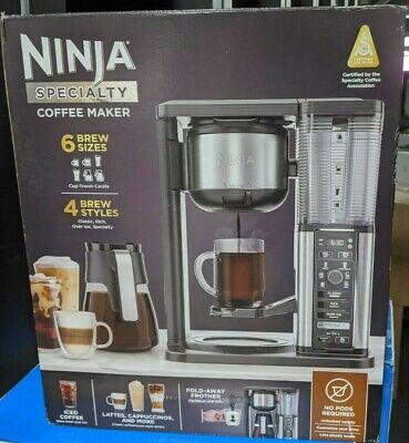 Ninja CM400 Specialty Coffee Maker - 6 Brew Sizes & 4 Brew ...