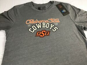 Oklahoma-State-Cowboys-T-Shirt-Womens-Large-Student-Alumni-Soft-Triblend-NEW-Tee