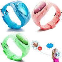 Gps Tracker Sos Call Children Kids Alarm Smart Watch Phone Anti-lost