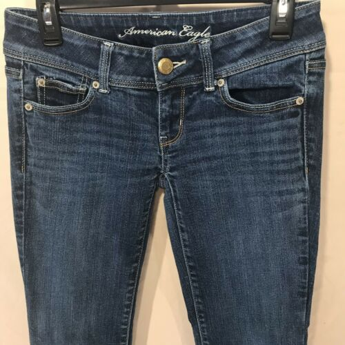 d Court Stretch Womens 2 Jeans Denim Taille Eagle Slim American fgvqw71f