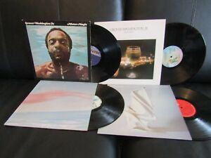 Details About 4 Albums Grover Washington Jr Mister Winelight Skylarkin The Best Is Yet