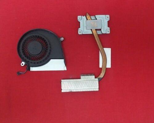 HP PAVILION 15-E037CL COOLING FAN W// HEATSINK 724870-001 725686-001 USED
