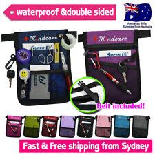 Nurse Pouch Extra Pocket Quick Pick Vet Age care Bag Organizer with Belt Strap
