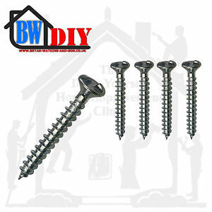 Clutch Head Security Screws Use Bolts Hinges on Sheds Garages Door Various Sizes