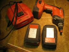 Hilti Sd4500a22 Drywall Screwgun With 3 Batteries And Charger