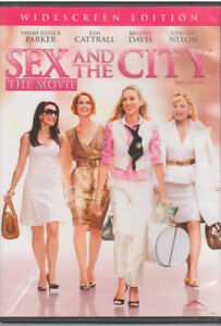 SEX-AND-THE-CITY-THE-MOVIE-DVD-2008-Bilingual-INCLUDES-INSERT