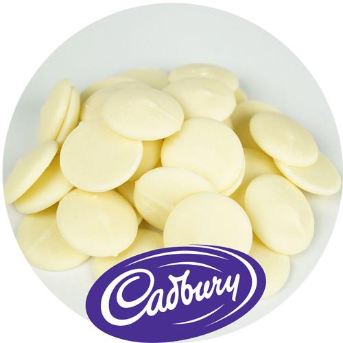 CADBURY - 1 Kg - White Compound Chocolate Buttons