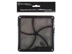 Silverstone-Lueftergitter-Staubschutzfilter-140mm-FF141B-magnetisch