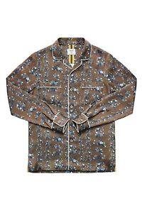 Erdem X Hm Men Silk Pajama Floral Shirt Size M New Ebay