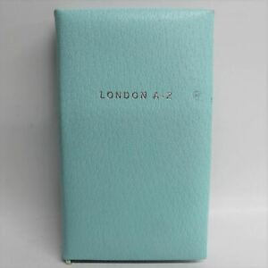 ASPINAL-OF-LONDON-Light-Blue-Leather-London-A-Z-Mini-Street-Atlas-Map-amp-Book
