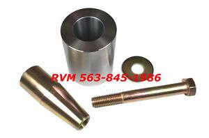 Details about BOBCAT 7160425 TAPERED BUSHING 7101078 PIN LOADER ARM REPAIR  KIT S185 SKID STEER