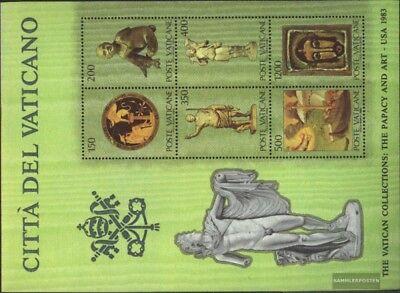 kompl.ausg. Vatikanstaat Block7 Postfrisch 1983 Vatikanische Kunstwerke Aromatischer Geschmack