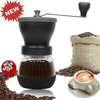 Manual Coffee Grinder Conical Hand Ceramic Burr Grain Mill