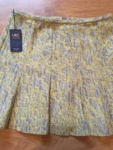 Marks And Spencer Ladies Skirt 16 Exquisite Traditional Embroidery Art