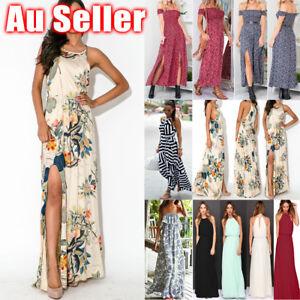 Women-039-s-Maxi-Boho-Dress-Floral-Summer-Beach-Cocktail-Evening-Party-Long-Sundress