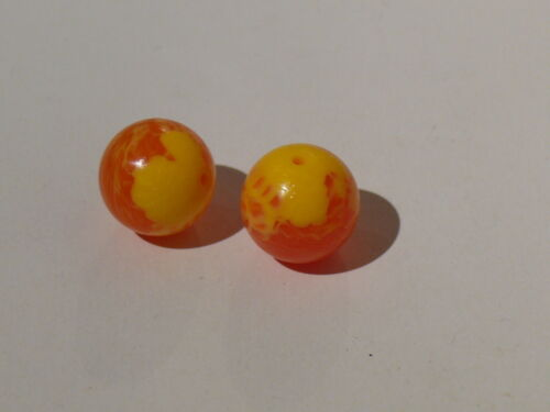 2 trans orange zamor sphere 70225 70211 70149 70150 Lego 2 balles bionicle