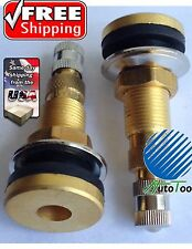 Tractor Air Water Tubeless Tire Valve Stems Wheel Rim TR618A New Set Of (2)