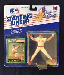 John Franco Kenner Starting Lineup Figurines 1989 Cincinnati Reds Sealed