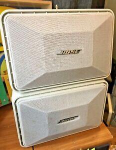 Paire-De-Bose-101-Enceintes-Compact-Blanche-ABS-2-UNITES