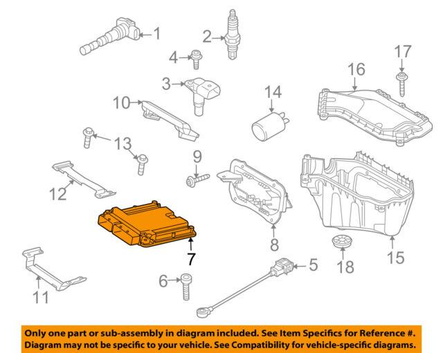 2012 Audi S5 Engine Control Module Computer 8T0907560AF ECU ECM for sale  online | eBayeBay